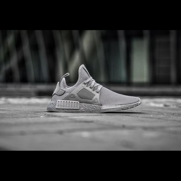 Adidas Originals NMD XR1 Triple Grey M 6 W 8 f5f29dab56